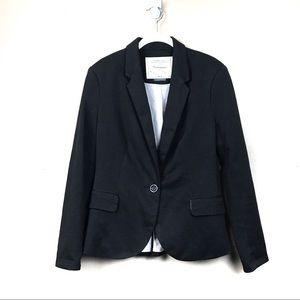 Anthropologie Cartonnier soft black blazer L